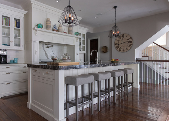 Center Set Island Granite Table Top Kitchen