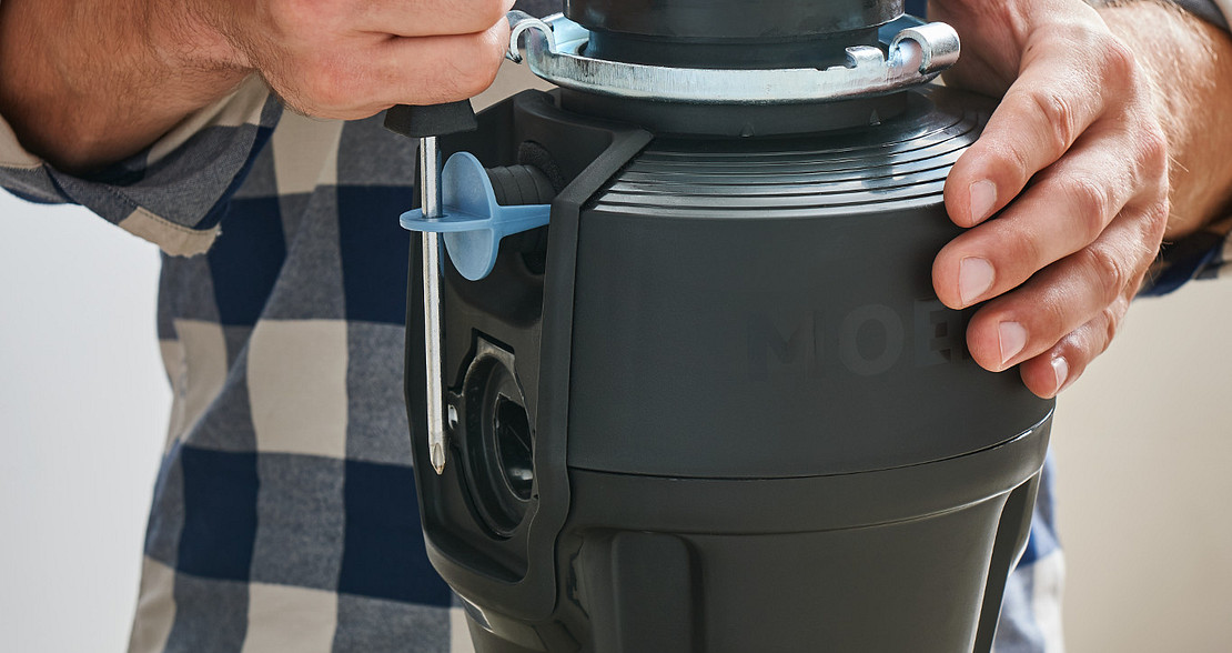 Easy Open Dishwasher Inlet