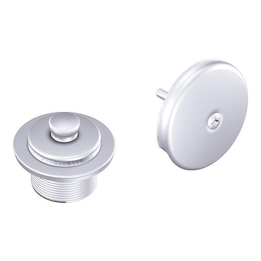 "Moen Platinum Push-N-Lock Tub Drain Kit with 1-1/2"" Threads"