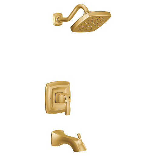 Voss Brushed Gold M-CORE 3-Series Tub/Shower