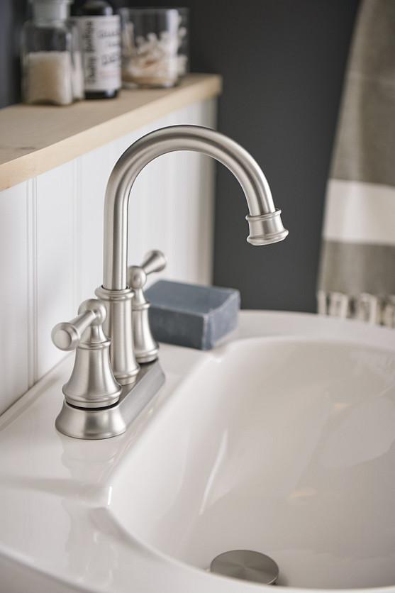 Lindor Two Handle Widespread Bath Faucet