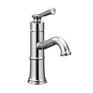 Belfield Chrome One-Handle High Arc Bathroom Faucet
