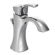 Voss Chrome One-Handle High Arc Bathroom Faucet