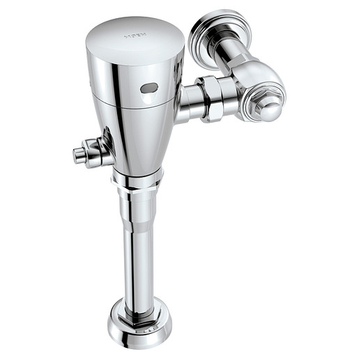 "M-POWER Chrome electronic flush valve 1 1/4"" urinal"