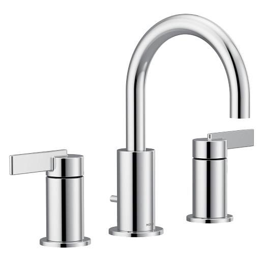 Cia Chrome two-handle bathroom faucet