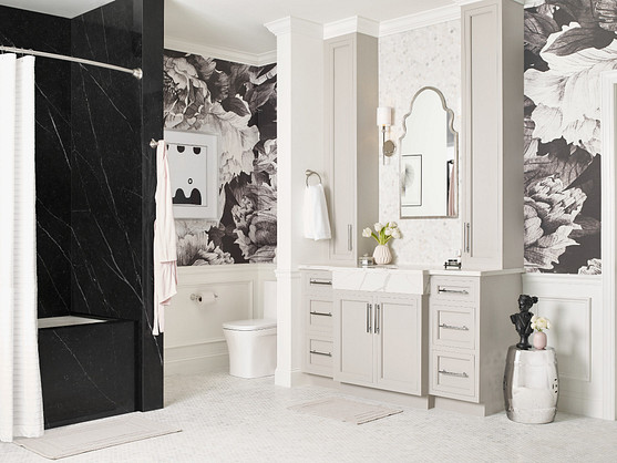 Halle Bathroom Collection Wallpaper Ideas