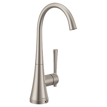 Moen Spot Resist Stainless One-Handle High Arc Single Mount Beverage Faucet