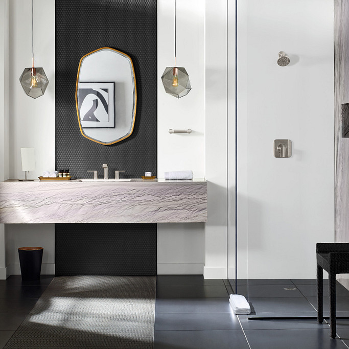 Beautiful modern bathroom design