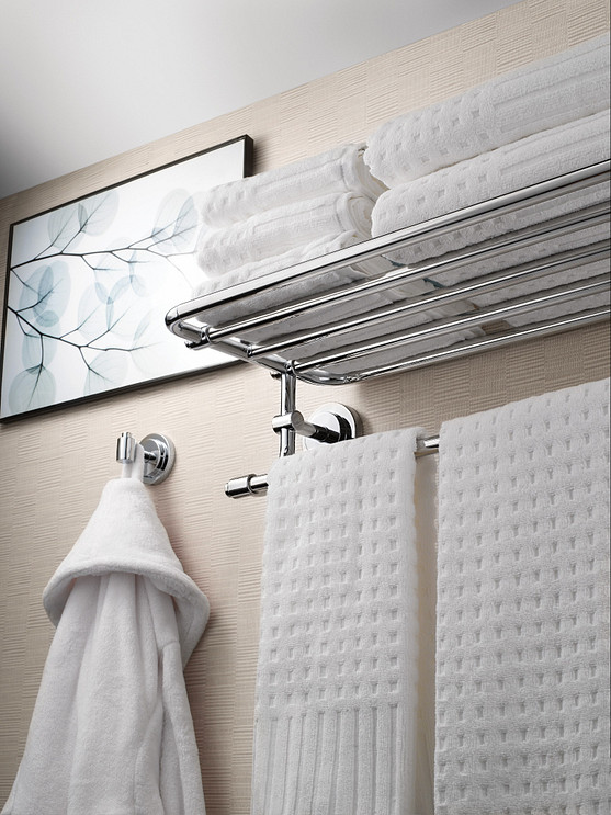 Install accessories to improve the design of your bathroom