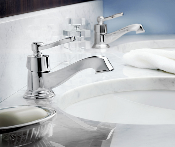 it is possible to combine great design and water conservation with Moen faucets