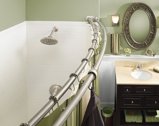 For added flexibility, the rod also features a flange that pivots 180 degrees