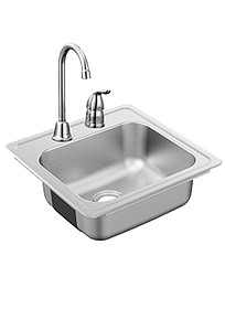 Combination Faucet Sinks