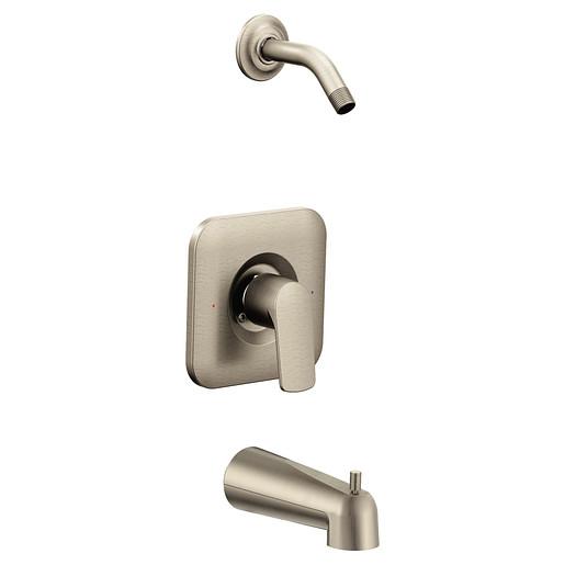 Rizon Brushed nickel Posi-Temp® Tub/Shower