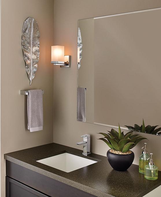 Add quality lighting to your bathroom