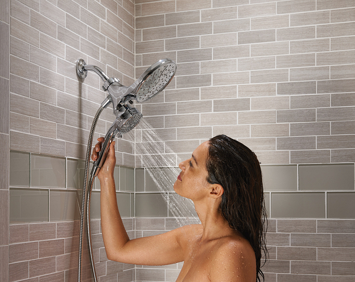 Moen Attract Magnetix Chrome Rainshower Combo