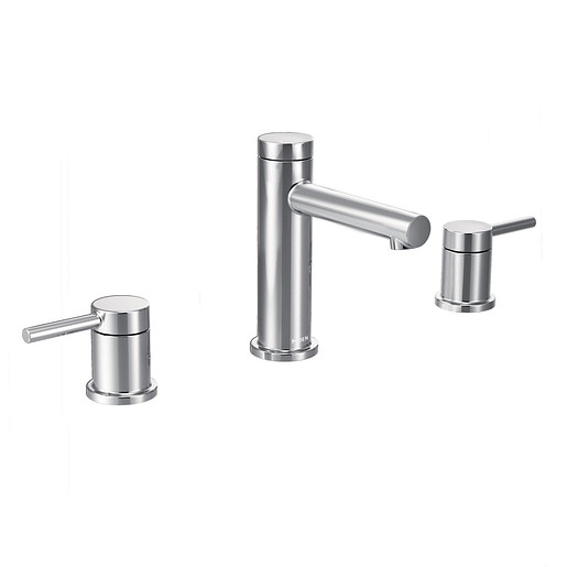 Align Chrome Two-Handle High Arc Bathroom Faucet
