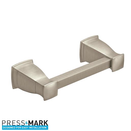 MY3508BN - Hensley Brushed nickel Pivoting Toilet Paper Holder