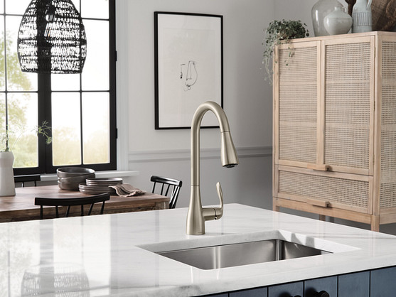 Select a sink with 16 to 23 inch gauge thickness or SoundShield technology