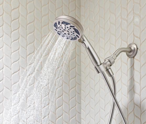 Install water efficient bathroom showerheads