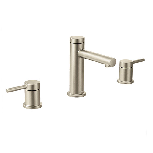 Align Brushed Nickel Two-Handle High Arc Bathroom Faucet