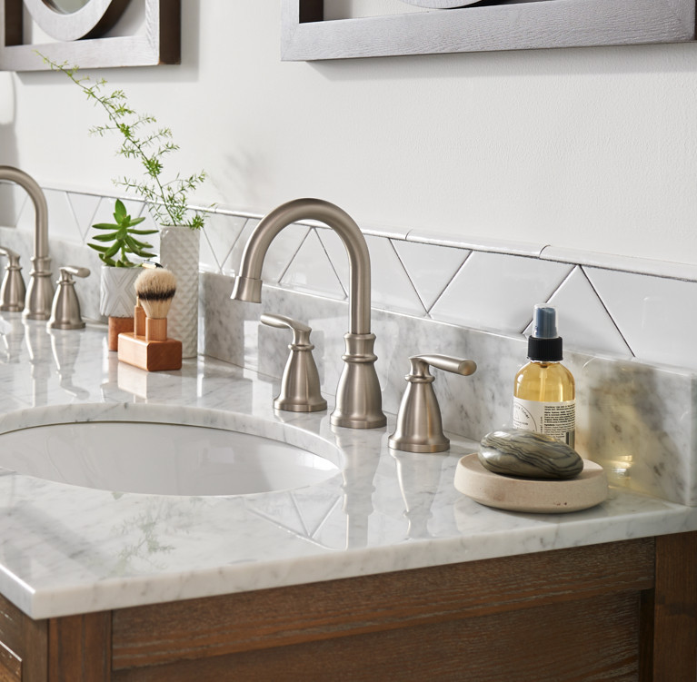 Transitional Bathroom Faucet