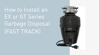 How to Install an EX or GT Series Garbage Disposal Video