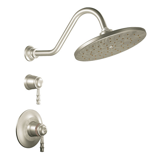 Bamboo Brushed nickel ExactTemp® shower only