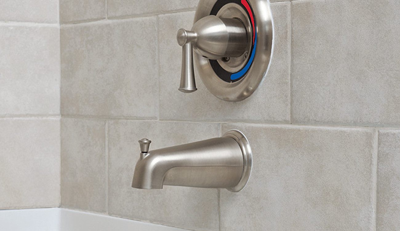 Transitional Shower Spa Faucets