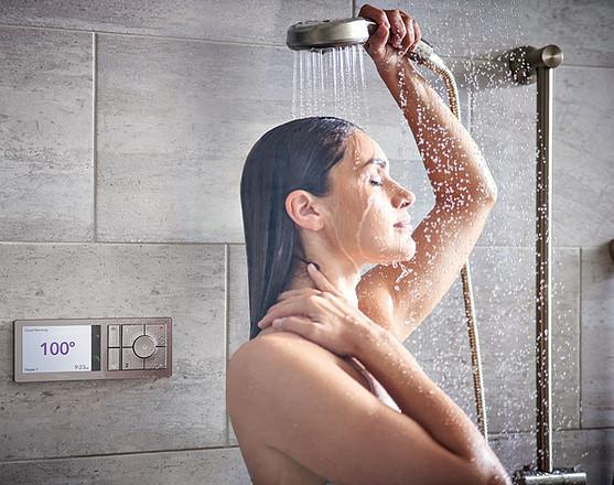 U By Moen Shower 2-Outlet Digital Shower Controller