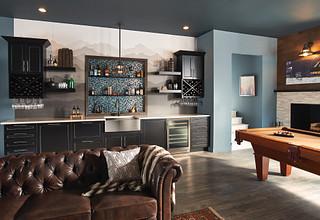 Bronze Kitchen Faucet Room