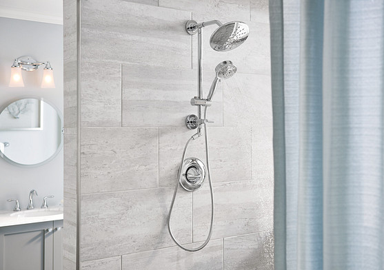 water efficient eco-performance showerheads are durable and easy to maintain