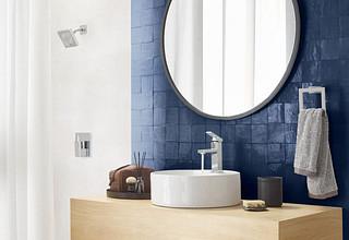 Moen Chrome Bathroom Faucet with Vessel Sink