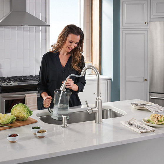 Pulldown faucets offer exceptional functionality