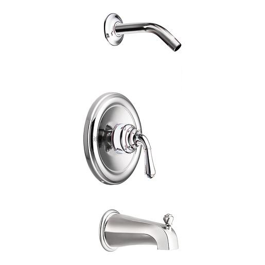 Monticello Chrome Posi-Temp® tub/shower
