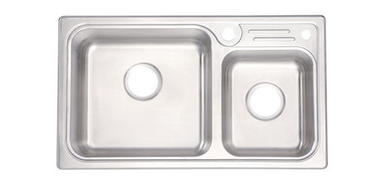Moen Sink Double Offset Bowl