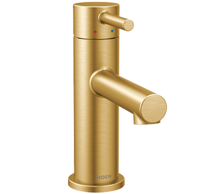 Browse Brushed Gold Bathroom Faucets