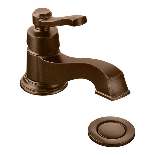 Rothbury Oil Rubbed Bronze One-Handle Low Arc Bathroom Faucet