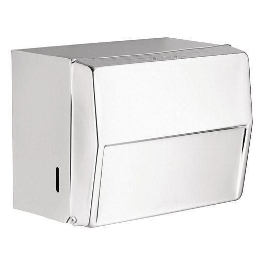 Donner Commercial Chrome Towel Cabinet