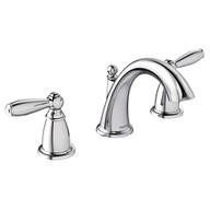 Brantford Chrome Two-Handle High Arc Bathroom Faucet