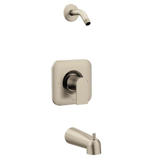 Genta LX Brushed Nickel Posi-Temp® Tub/Shower - No Head
