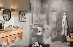Get an Upscale Shower without Remodeling