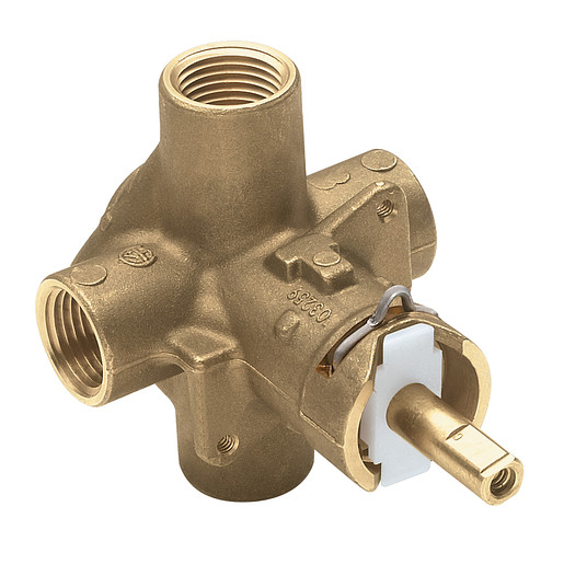 """M-Pact Includes bulk pack Posi-Temp® 1/2"""" IPS connection pressure balancing"""