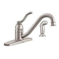 Banbury Spot resist stainless One-Handle Low Arc Kitchen Faucet