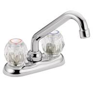 Chateau Chrome Two-Handle Low Arc Laundry Faucet