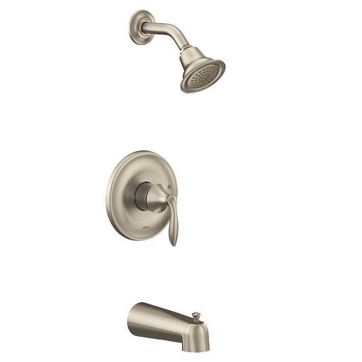 Eva Brushed Nickel M-CORE 2-Series Tub/Shower