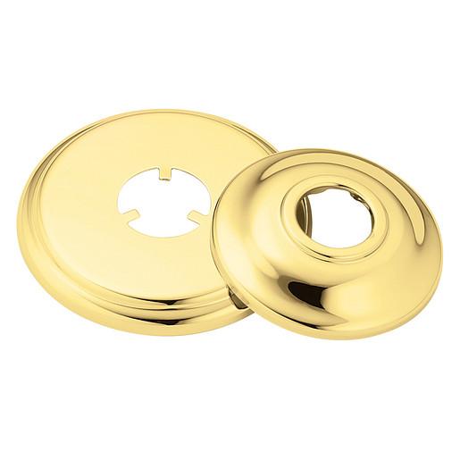 "Moen Polished Brass Tub/Shower Accent Kit (3.25""L x 3.25""W x 1""H)"