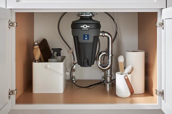 Limit garbage disposal usage; install faucet aerators