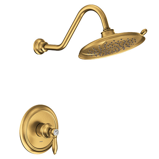 Weymouth Brushed Gold M-CORE 2-Series Shower Only