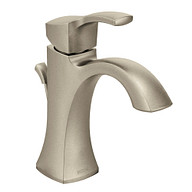 Voss Brushed Nickel One-Handle High Arc Bathroom Faucet