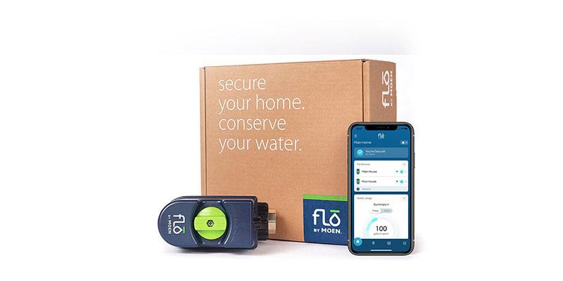 Flo by Moen Smart Water Shutoff Valve